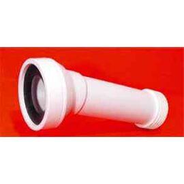 McAlpine WC csatlakozó 14° 90-es lamellás 350mm