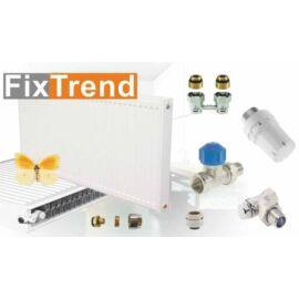 FixTrend kompakt radiátor, 22K/600x800mm