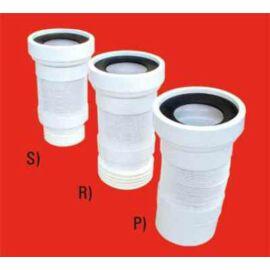 McAlpine WC flexi csatlakozó 110-es /21x41cm/ csonkos ( légbeszívó lehetőség )