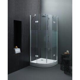 Kolpa San Atlas TKP 90x90,negyedköríves, sarokbelépős zuhanykabin ( bemutató )