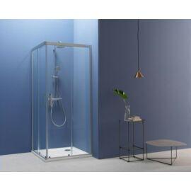Kolpa San Pulsar TKK 90, szögletes,tolóajtós zuhanykabin (560160)