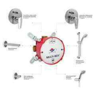 MOFÉM  Multiboxhoz zuhanykar BD-300 króm ( evo )
