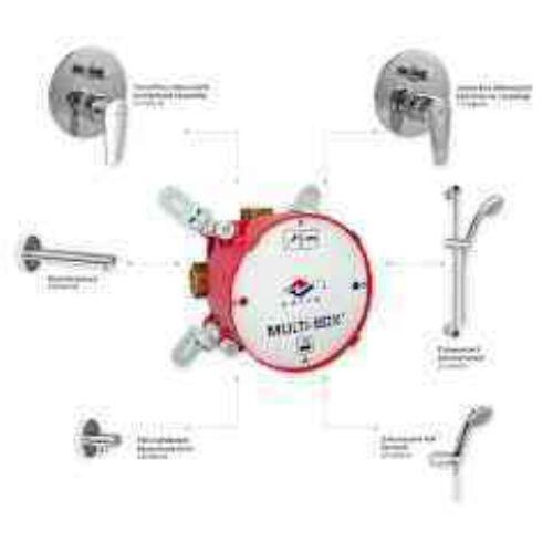 MOFÉM  Multiboxhoz látható rész Junior Evo kád-zuhany