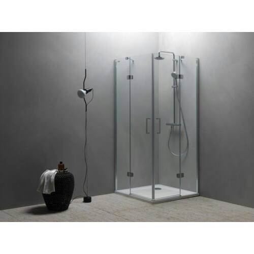 Kolpa San Atlas TKK 90x90,szögletes, sarokbelépős zuhanykabin (560200)