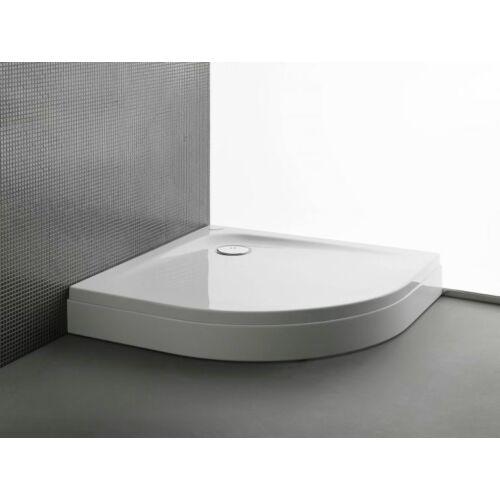Kolpa San Evelin Tray R 90x90 előlapos akril zuhanytálca (593060)