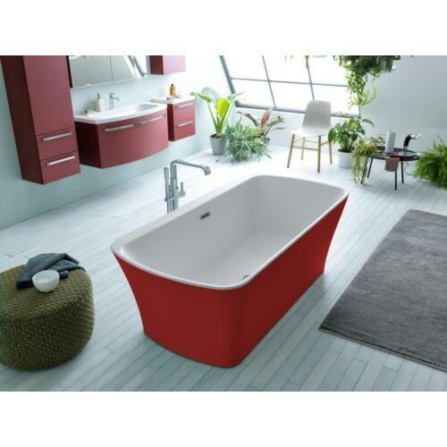 Kolpa San Marilyn-FS 180x90 szabadon álló akril fürdőkád PIROS (593960)