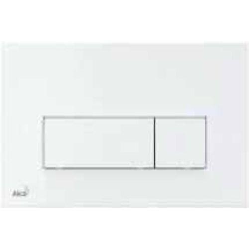 Alcaplast falon belüli wc-hez nyomólap THIN fehér