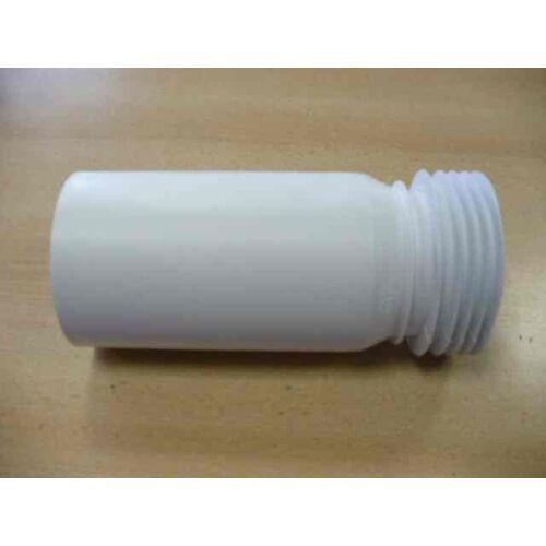 McAlpine WC egyenes csatlakozó 260mm 100-as lamellás
